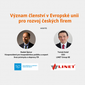 Význam členství v EU pro rozvoj českých firem s Radkem Špicarem a Tomášem Kolářem /3.12./